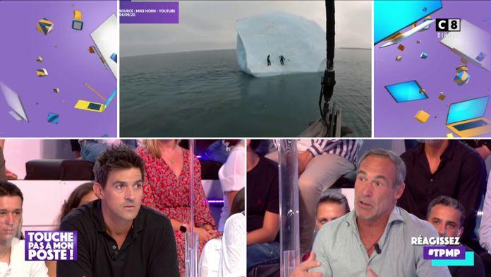 Mike Horn revient sur son récent accident à bord d'un glacier