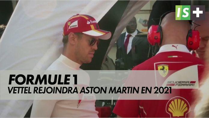 Sebastian Vettel pilotera pour Aston Martin en 2021 : Formule 1
