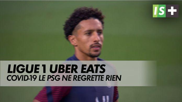 Malgré les cas de covid, le PSG ne regrette rien : Ligue 1 Uber Eats - Lens - Paris SG