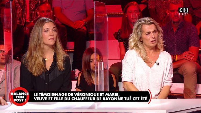 Le témoignage émouvant de Véronique et Marie, veuve et fille du chauffeur de bus de Bayonne