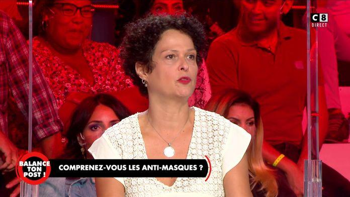 """Stéphanie, militante anti-masques : """"Le masque ne sert à rien et il est dangereux !"""""""