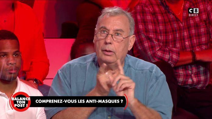 """Patrick Bellier, pneumologue et anti-masques donne son avis sur les masques : """"L""""épidémie est finie"""""""