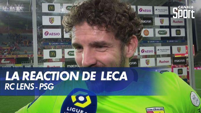 La réaction de Jean-Louis Leca après Lens - PSG : Ligue 1 Uber Eats