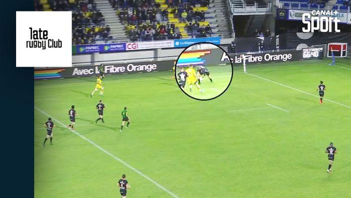Clermont / Toulouse : Déjà l'essai de l'année ? : Late Rugby Club