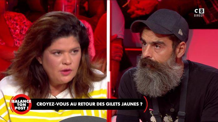 """Raquel Garrido à Jérôme Rodrigues : """"Tu es quelqu'un de très bien, tu es une belle personne !"""""""
