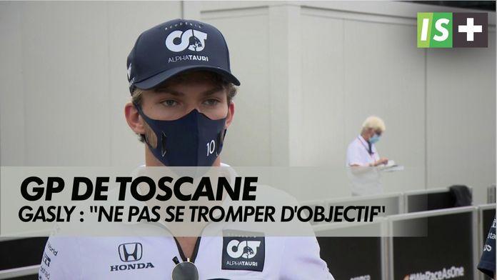 """Gasly : """"Ne pas se tromper d'objectif"""" : Formule 1 - Grand prix de Toscane"""