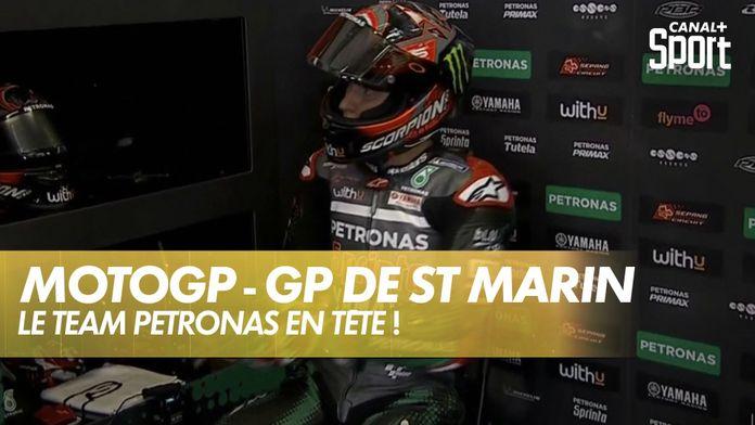 Yamaha Petronas survole les essais libres ! : MotoGP