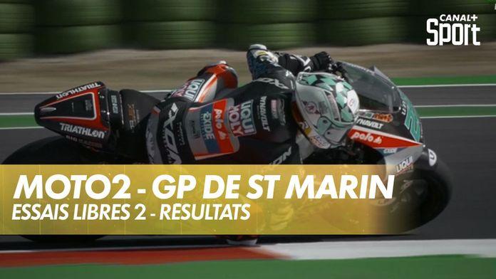 Bastianini en tête des essais libres : Moto2