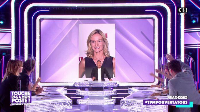 """La première de Audrey Crespo-Mara dans """"Sept à huit"""" sur TF1"""