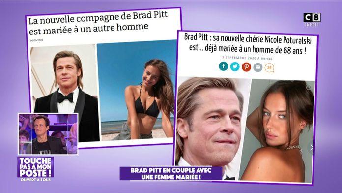 Brad Pitt serait en couple avec une femme mariée de 27 ans !