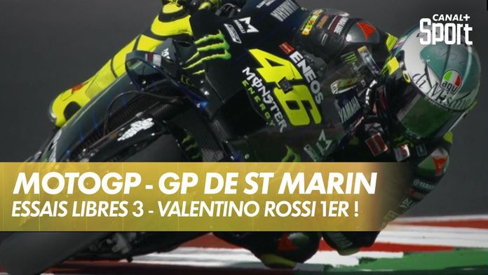 Essais libres 3 - Rossi en tête ! : MotoGP
