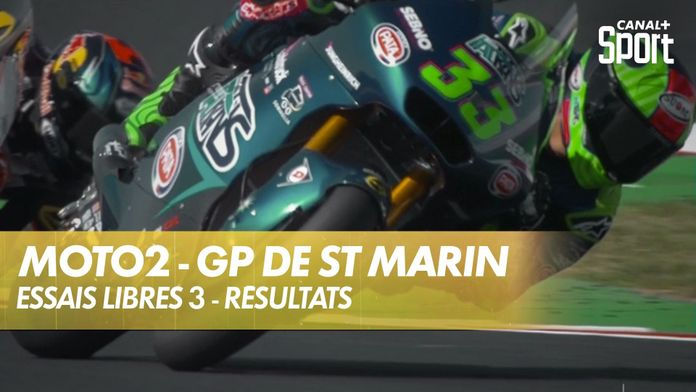 Essais libres 3 - Les résultats : Moto2