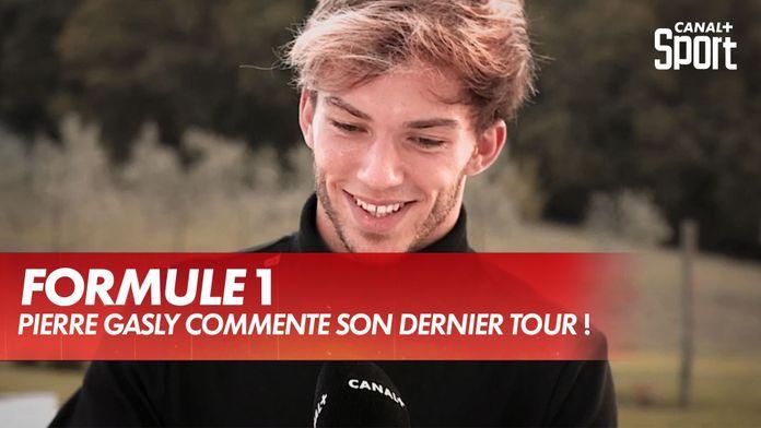 Pierre Gasly commente le dernier tour de sa victoire ! : Grand Prix de Toscane