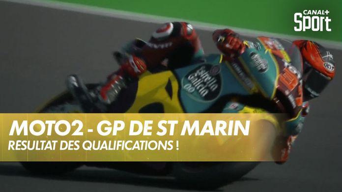 Le résultat des qualifications Moto 2 ! : Moto2