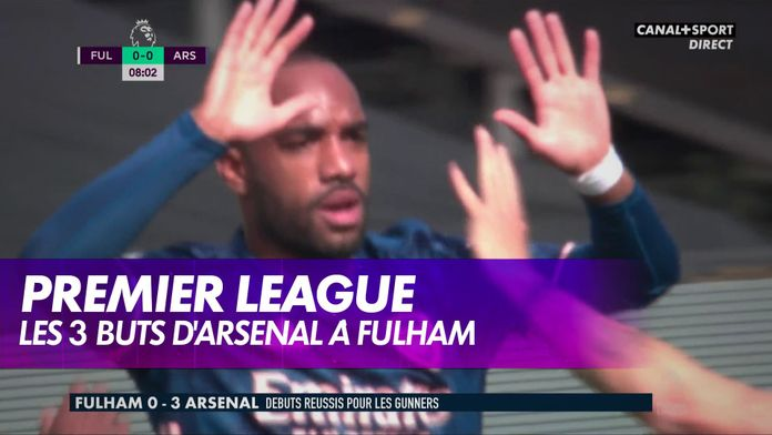 Fulham / Arsenal : Premier League, 1ère journée