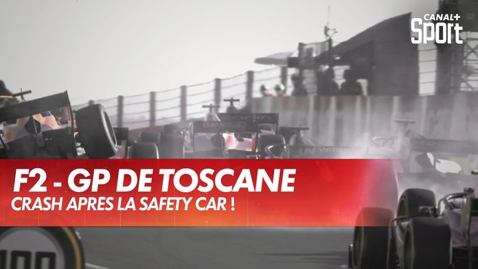 Crash après la Safety Car ! : Grand Prix de Toscane