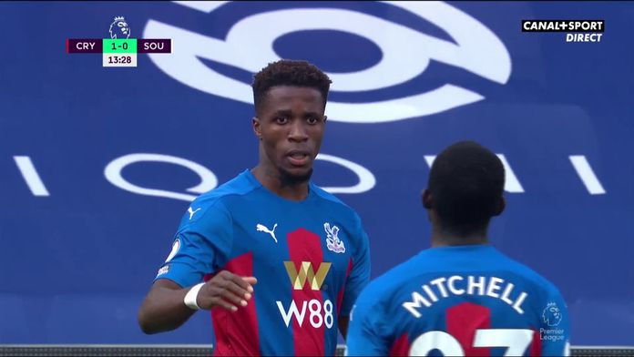 Wilfried Zaha donne la victoire à Palace : Premier League