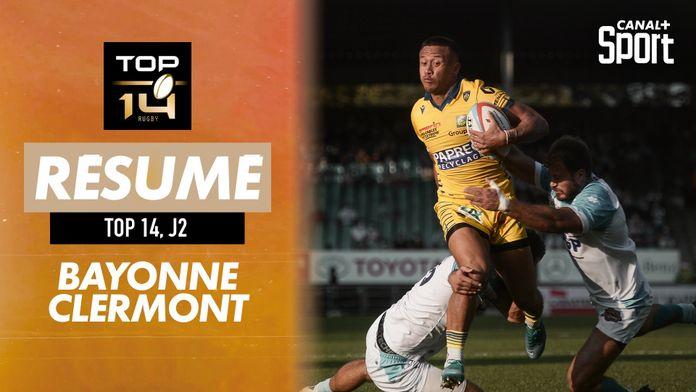 Le résumé Jour De Rugby de Bayonne / Clermont : TOP 14