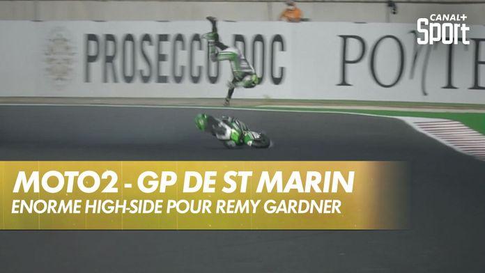 L'enorme chute de Remy Gardner : Moto2
