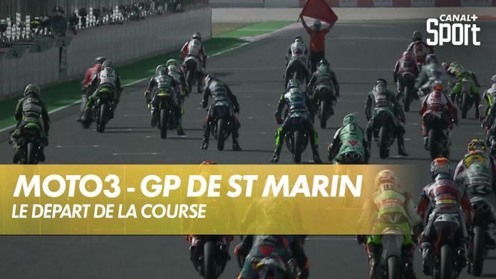 Le départ de la course Moto 3 ! : Moto3