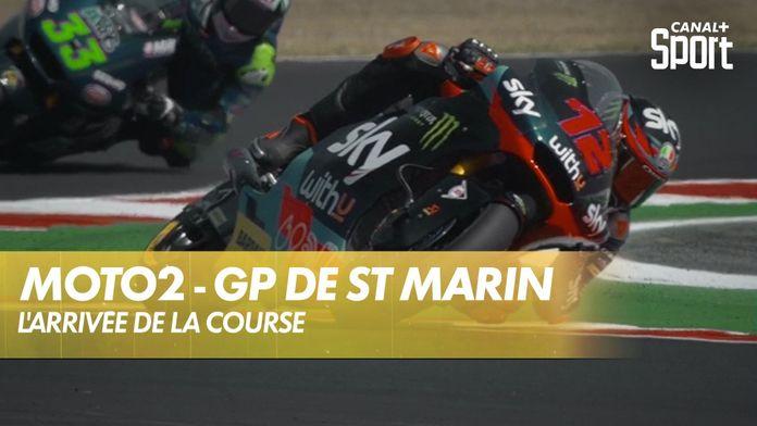 Le dernier tour de la course ! : Moto2