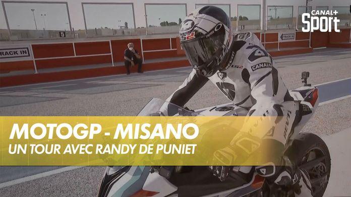 Découverte de Misano avec Randy de Puniet : MotoGP
