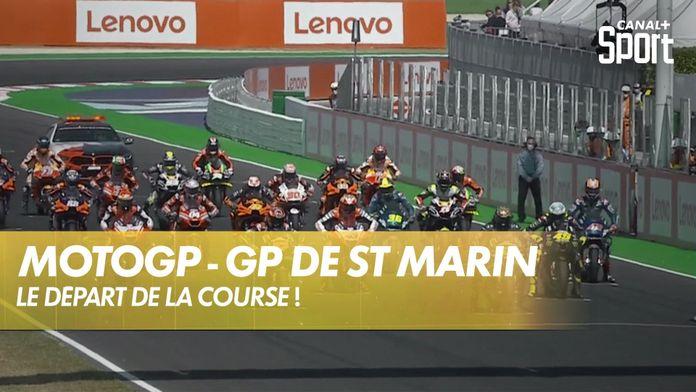 Le départ de la course ! : MotoGP