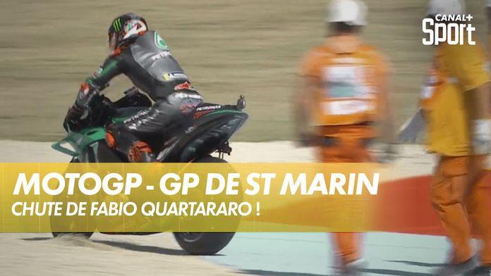 Chute de Fabio Quartararo ! : MotoGP