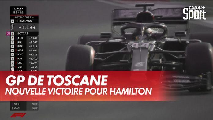 Nouvelle victoire de Hamilton : Grand Prix de Toscane