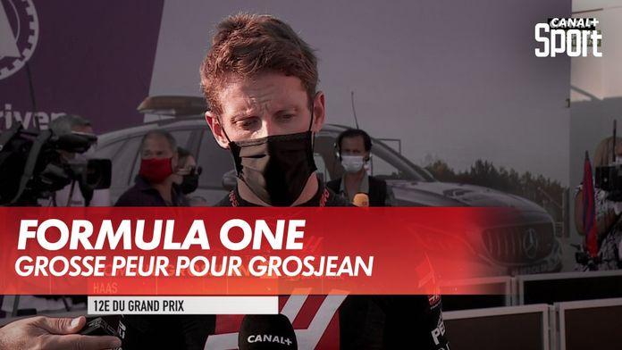 """Grosjean : """"Il manque la moitié de la voiture..."""" : Grand Prix de Toscane"""
