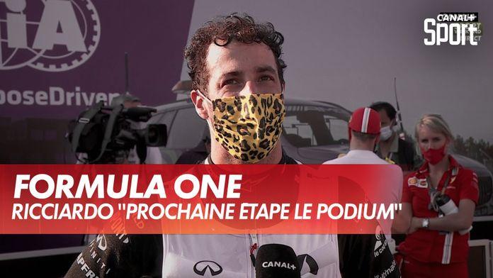 "Ricciardo : ""prochaine étape le podium"" : Grand Prix de Toscane"