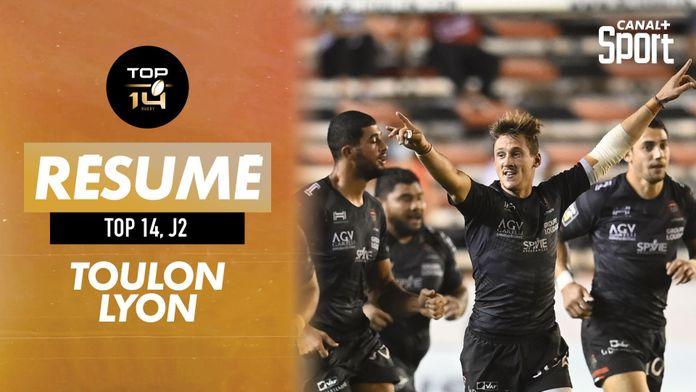 Le résumé de Toulon - Lyon : Top 14