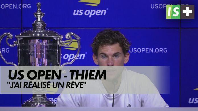 """Thiem : """"J'ai réalisé un rêve"""" : US Open"""