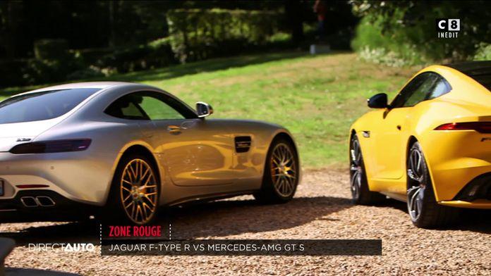 Zone Rouge : Jaguar F-Type R vs Mercedes AMG GT S