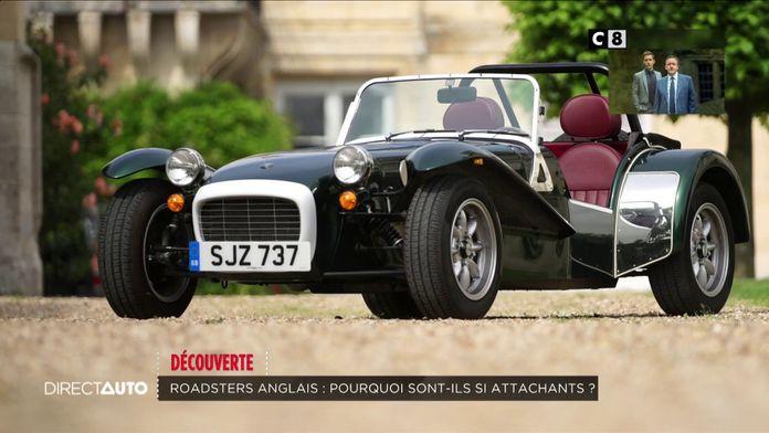 Découverte : les plus beaux roadster anglais