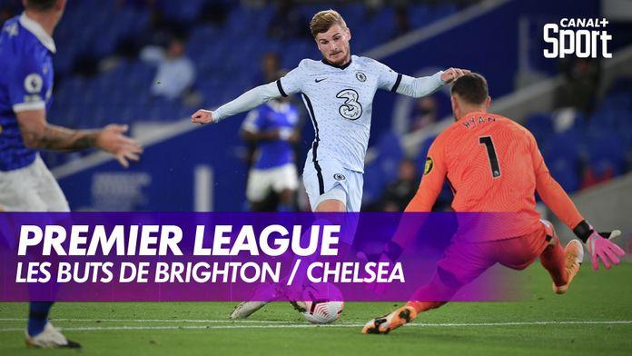 Les buts de Brighton / Chelsea : Premier League