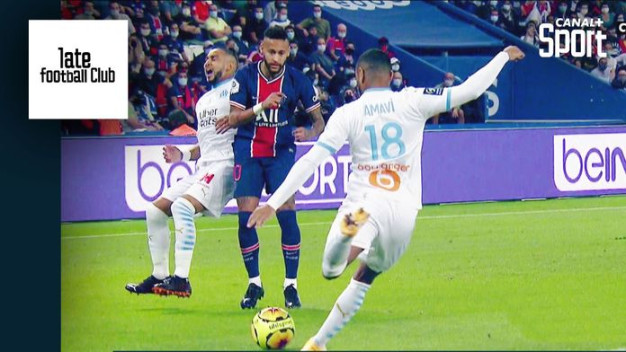 Tony Chapron analyse le comportement de Neymar pendant PSG / OM : Late Football Club