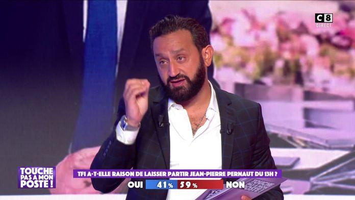 """Cyril Hanouna : """"Selon moi, Jean-Pierre Pernaut a été écarté de TF1 parce qu'il dérange !"""""""