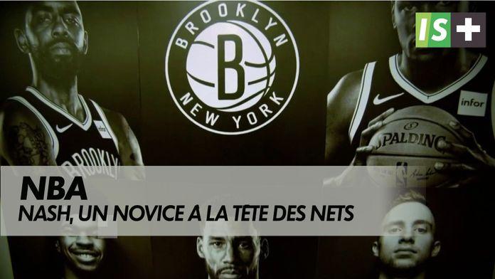 Steve Nash, un novice à la tête des Nets : NBA