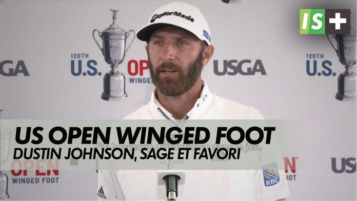 Dustin Johnson, sage et favori : US Open Winged Foot