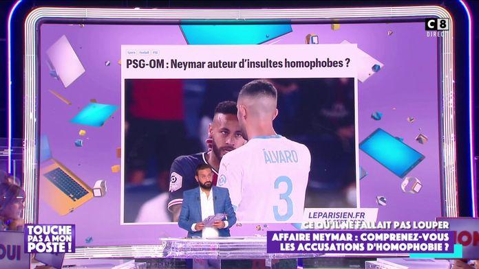 Neymar accusé d'avoir proclamé des insultes homophobe en direction de Alvaro González