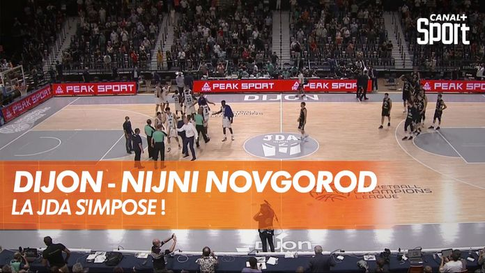 La JDA Dijon s'impose ! : Dijon - Nizhny
