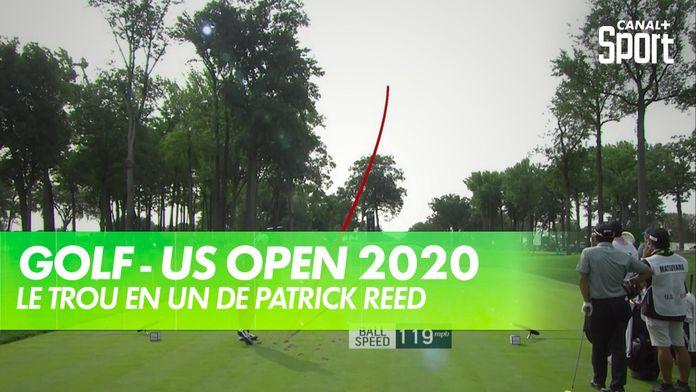 Le trou en un de Patrick Reed : US Open