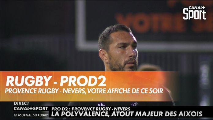 Provence Rugby - Nevers, votre affiche de ProD2 ce soir