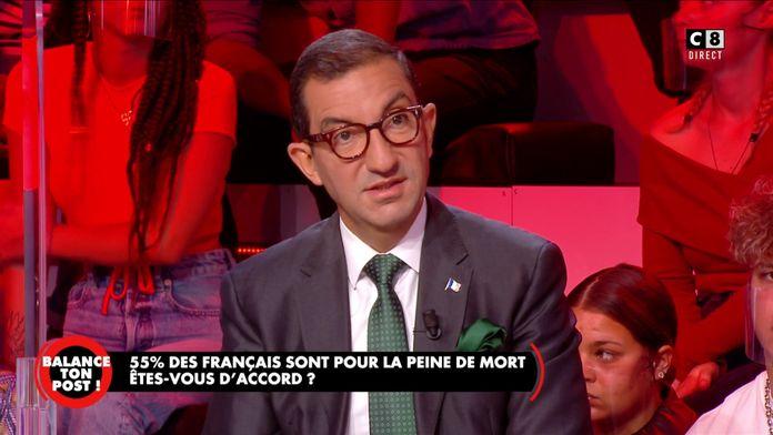 Jean Messiha s'exprime sur le retour de la peine de mort en France