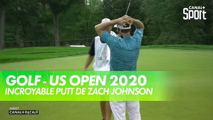 Incroyable putt de Zach Johnson - US Open 2020 : US Open