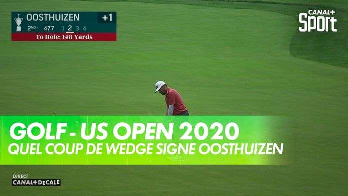 Quel coup de wedge signé Louis Oosthuizen ! : US Open