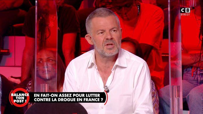 Eric Naulleau affirme être pour l'expérimentation de la légalisation de la drogue en France