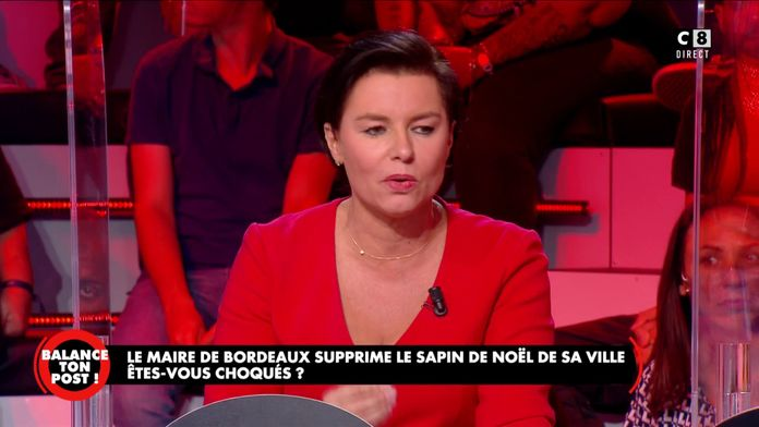 """Laurence Sailliet à propos du sapin de Noël : """"Le maire de Bordeaux sert un public d'extrême gauche"""""""