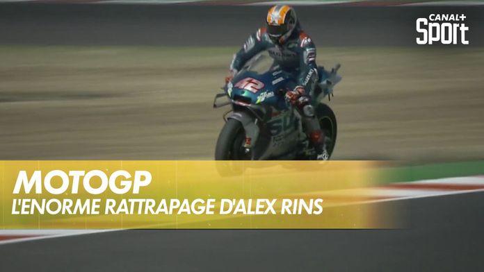 L'énorme rattrapage d'Álex Rins : MotoGP